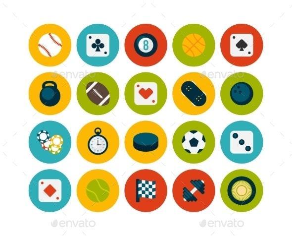 Flat Icon Set - Miscellaneous Vectors
