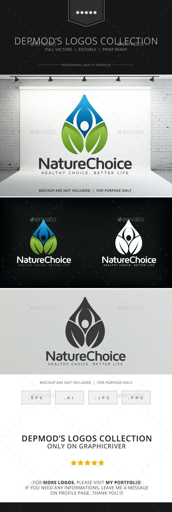 Nature Choice Logo - Nature Logo Templates