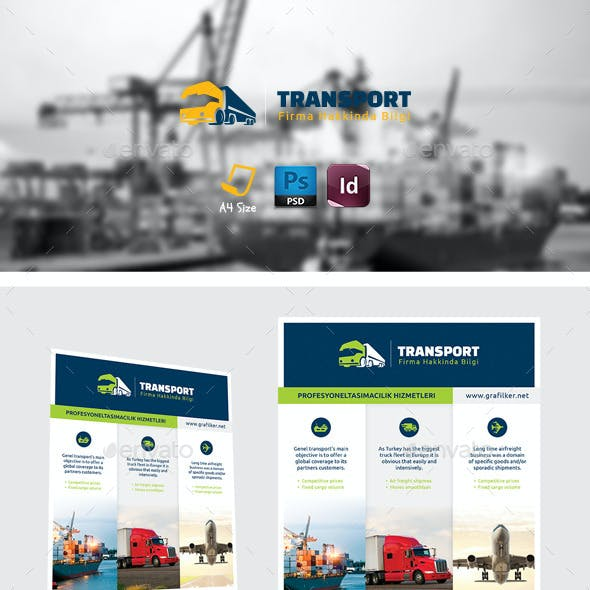 Transport Flyer Templates