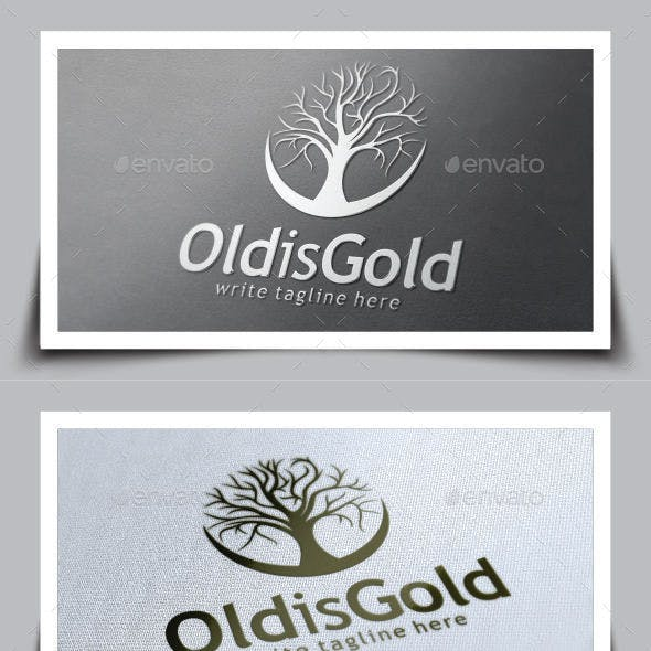 Old Tree Logo Template