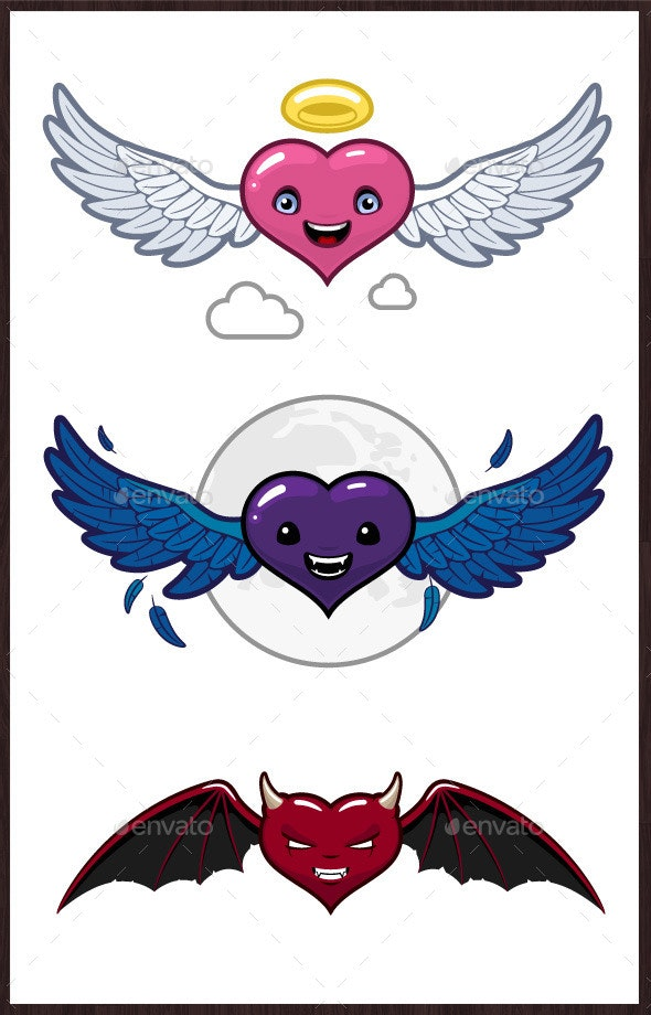 Hearts Faces - Miscellaneous Characters