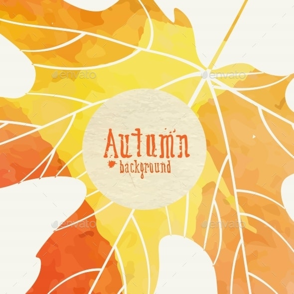 Simple Autumn Background - Seasons Nature