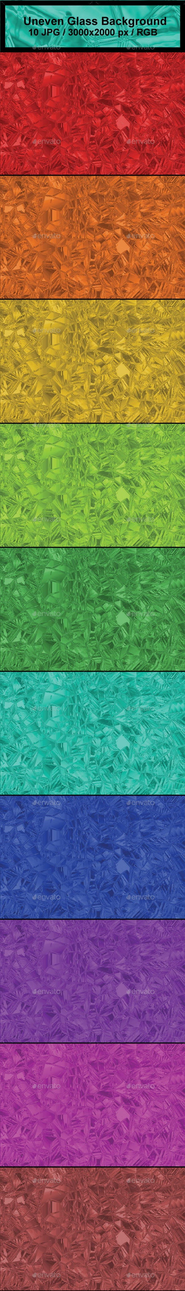 Uneven Glass Background - Abstract Backgrounds