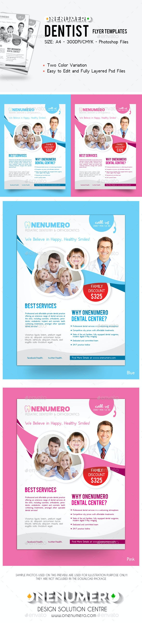 Dentist Flyer Template - Corporate Flyers