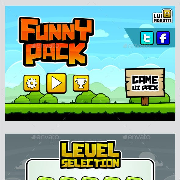 Funny Pack - Game UI Pack