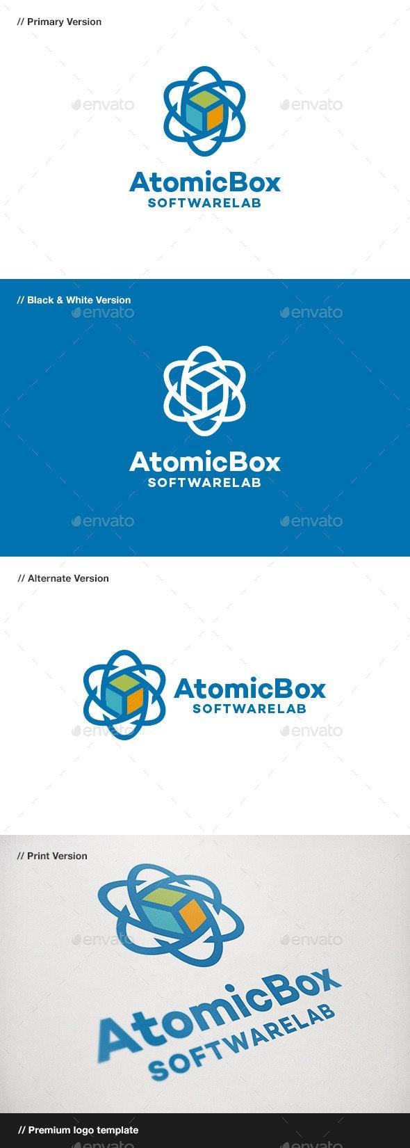Atomic Box Logo - Symbols Logo Templates