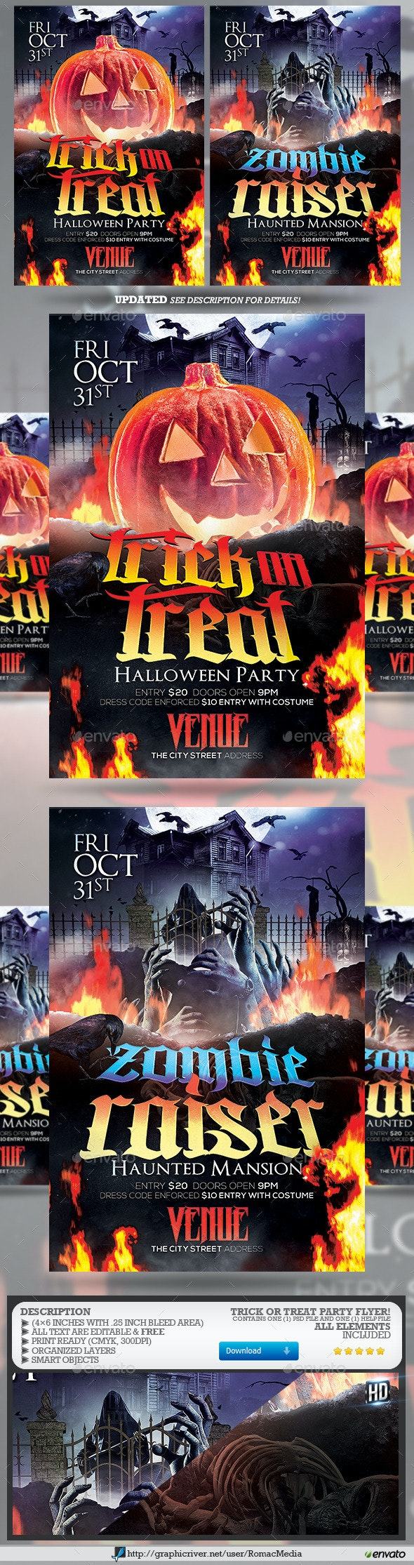 Trick or Treat Party - Clubs & Parties Events