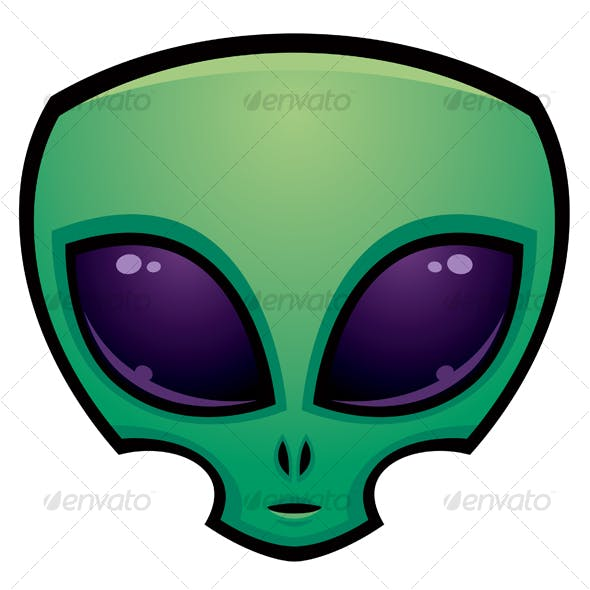 Alien Head Icon