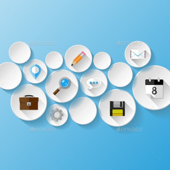 Abstract Background.  Web Concept - Web Technology