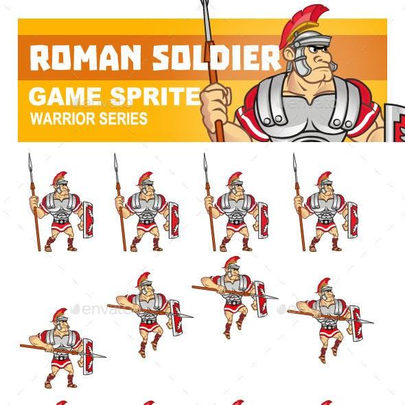Roman Soldier Sprite