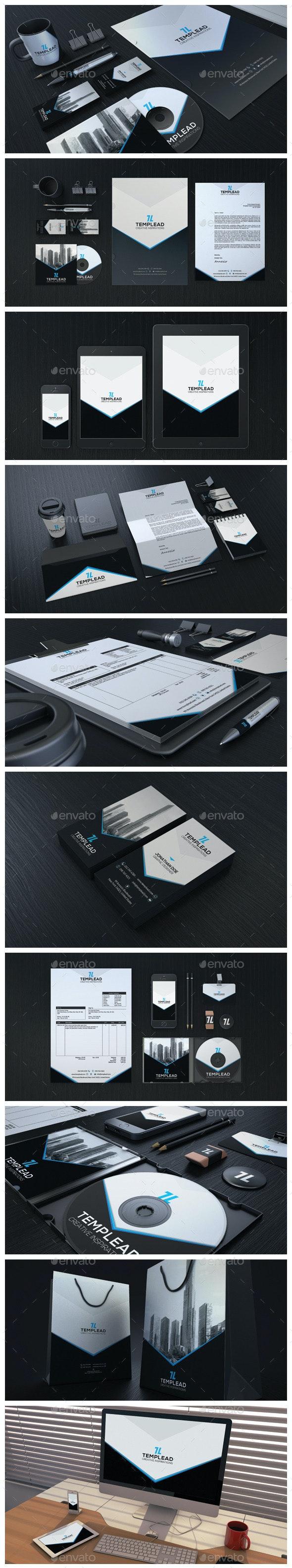 Modern Corporate Identity CI0007 - Stationery Print Templates
