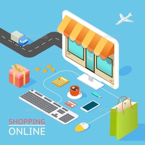 Concept of Online Shop