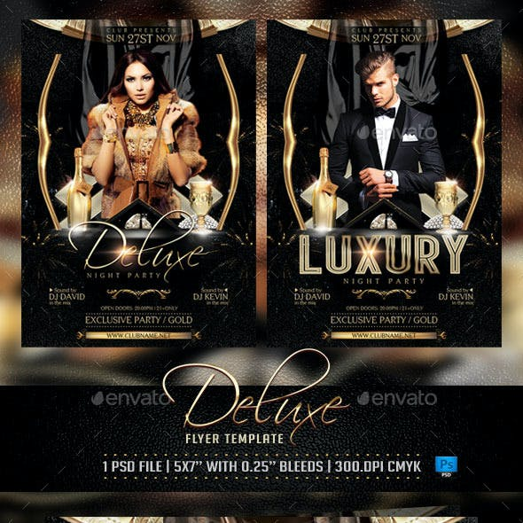Deluxe and Luxury Flyer Template