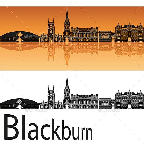 Blackburn Skyline - Buildings Objects