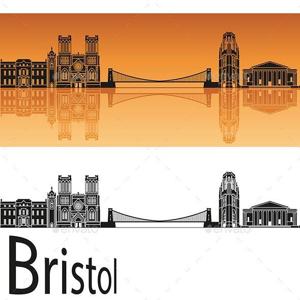 Bristol Skyline - Buildings Objects