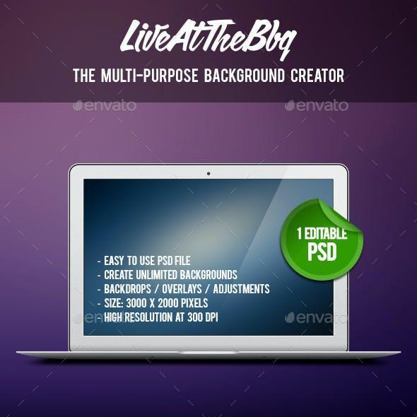 Multi-Purpose Background Creator