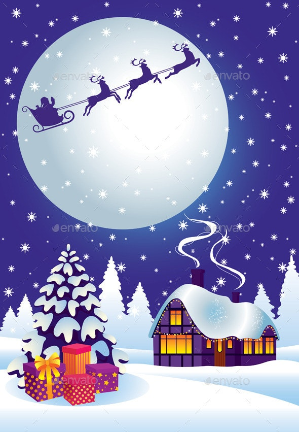 Magic Christmas Eve - Christmas Seasons/Holidays