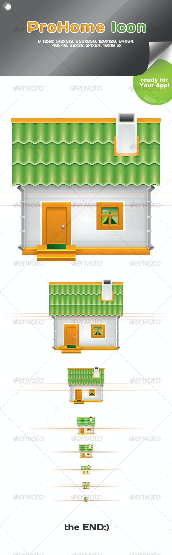 Pro Home Icon - Buildings Objects