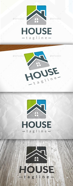 New House Logo - Buildings Logo Templates