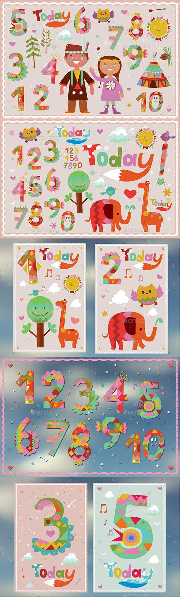Happy Birthday Illustrations - Birthdays Seasons/Holidays