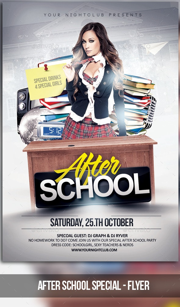 After School Special - Clubs & Parties Events