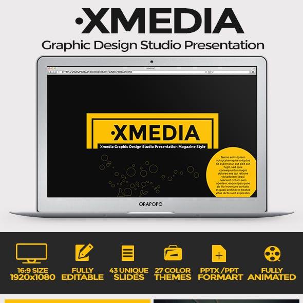 Xmedia Graphic Design Studio Presentation
