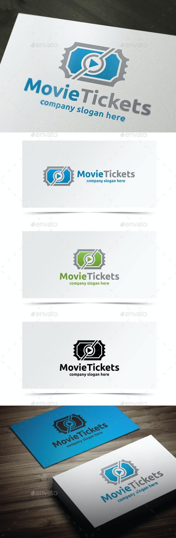 Movie Tickets - Objects Logo Templates