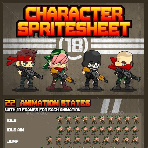 Characters Spritesheet 18