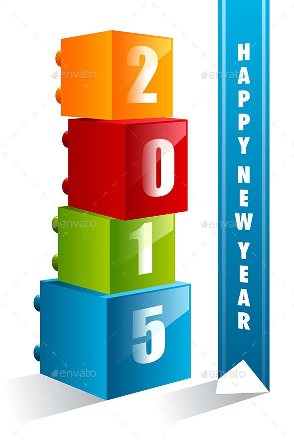 New Year 2015 sign - New Year Seasons/Holidays