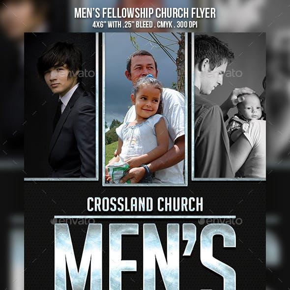 Men's Fellowship Church Flyer