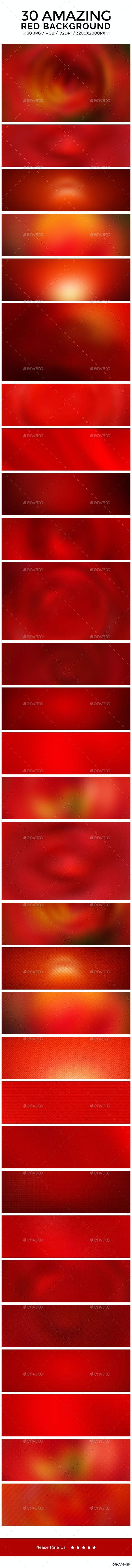 30 Red Blurred Backgrounds - Backgrounds Graphics