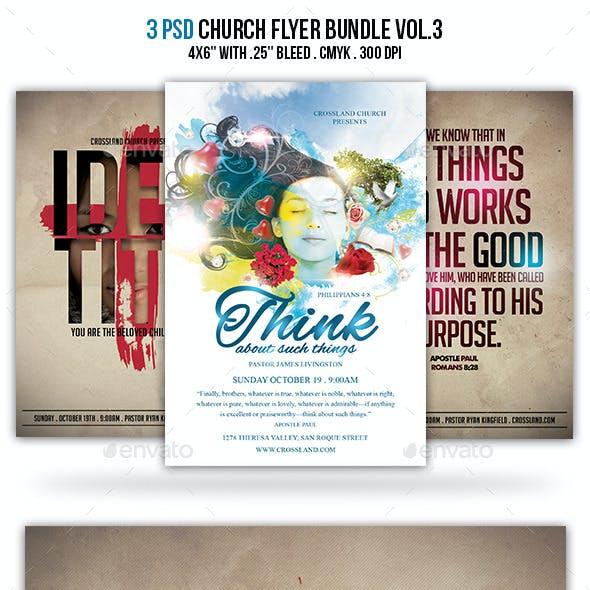 Church Flyer Bundle Vol. 3