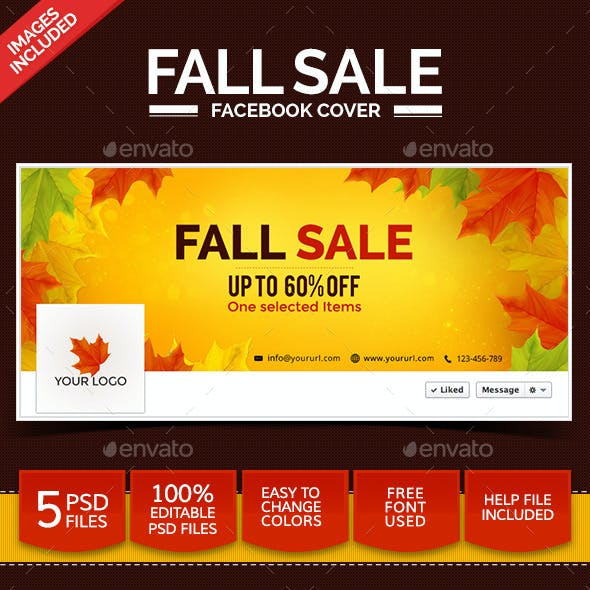 Fall Sale Facebook Covers