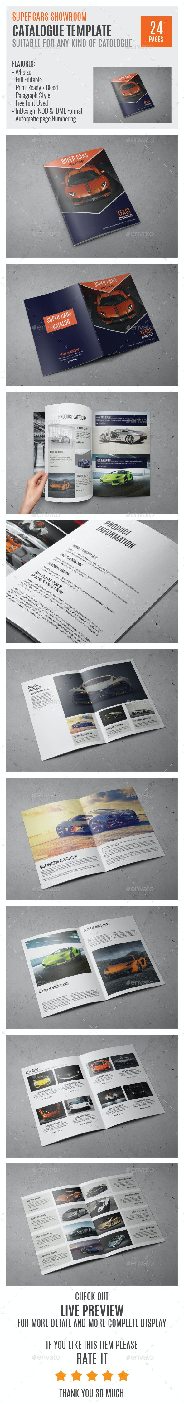 SuperCars A4 Catalog Template 0003 - Catalogs Brochures