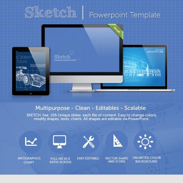 Sketch PowerPoint Presentation Template