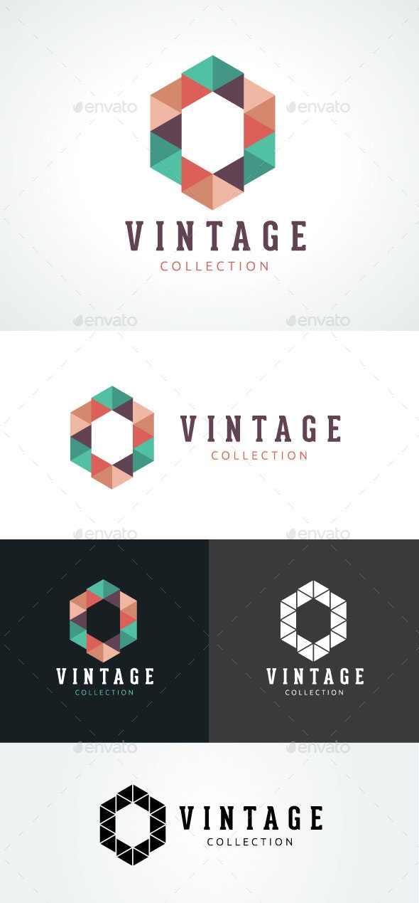 Vintage Collection - Abstract Logo Templates