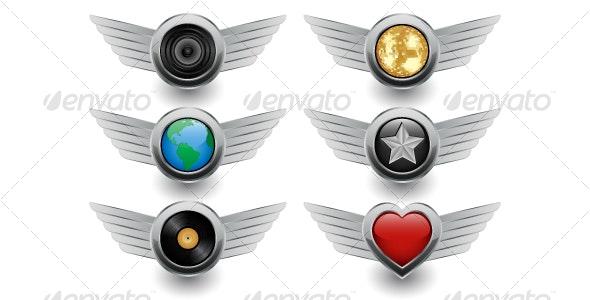 Icons - Decorative Symbols Decorative
