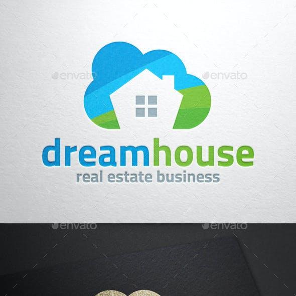 Dream House Logo Template