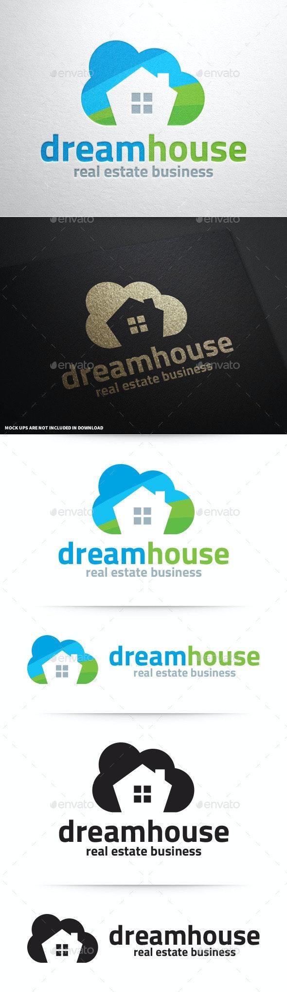 Dream House Logo Template - Buildings Logo Templates