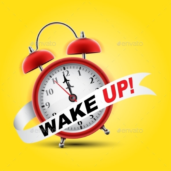 Red Alarm Clock - Services Commercial / Shopping
