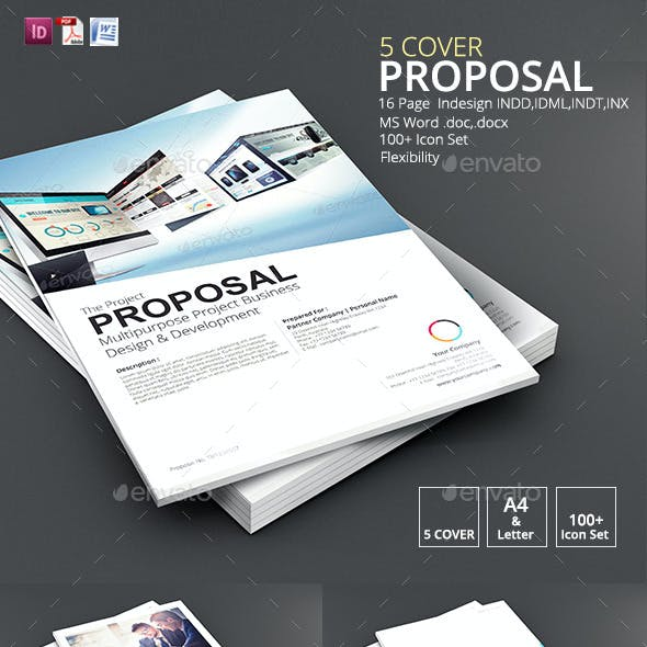 5 Cover Proposal Template