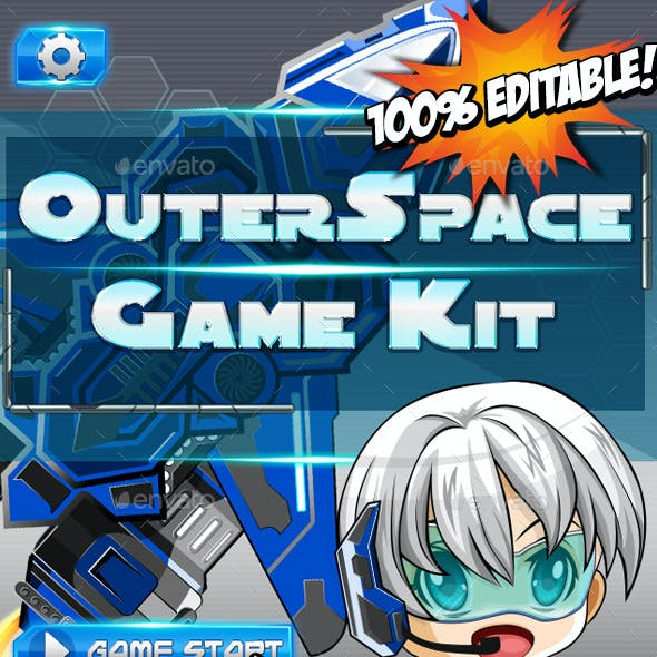 Outer Space Game Kit