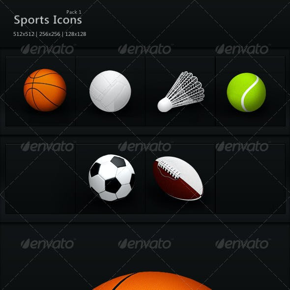 Sports Icons Pack 1
