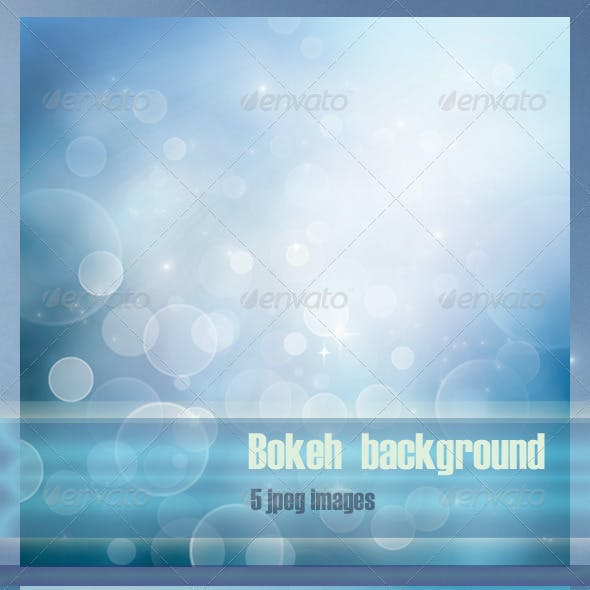 Winter Bokeh Backgrounds