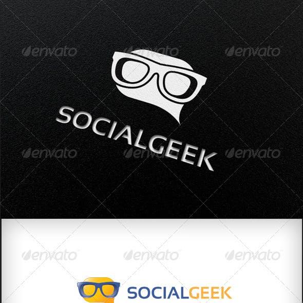Social Geek - Logo Template