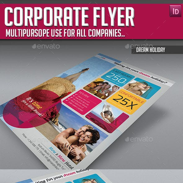 Corporate Flyer - Dream Holiday