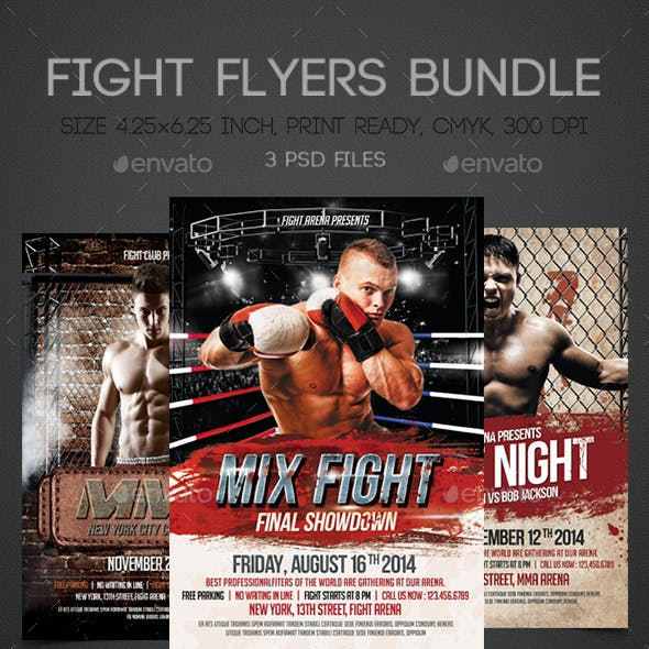 Fight Flyers Bundle