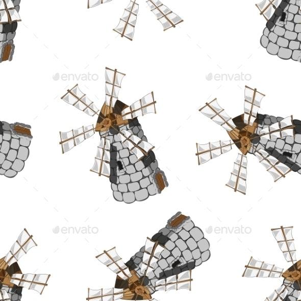 Windmill - Backgrounds Decorative