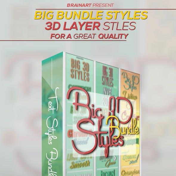 3D Layer Styles Bundle