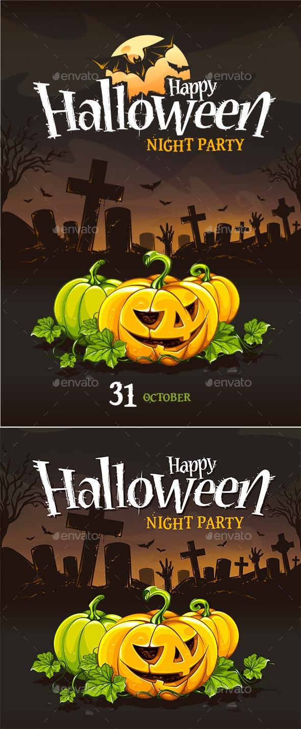 Halloween Poster Templates - Halloween Seasons/Holidays